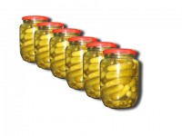 Pickled cucumber 3-6